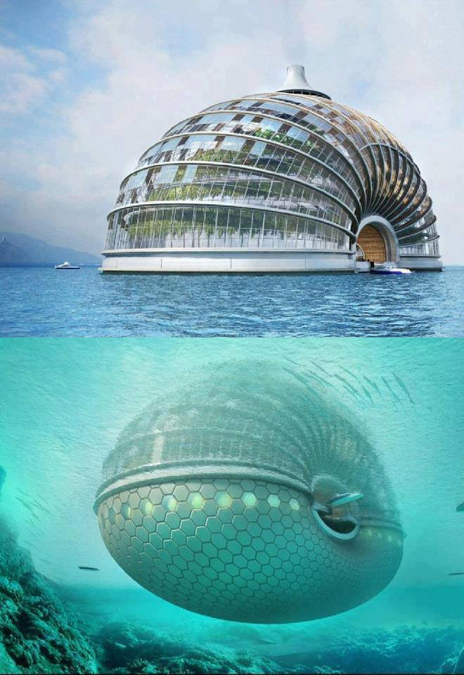 The floating ark hotel, chine
