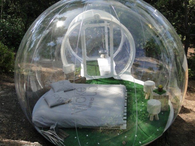 bubble hotel, french