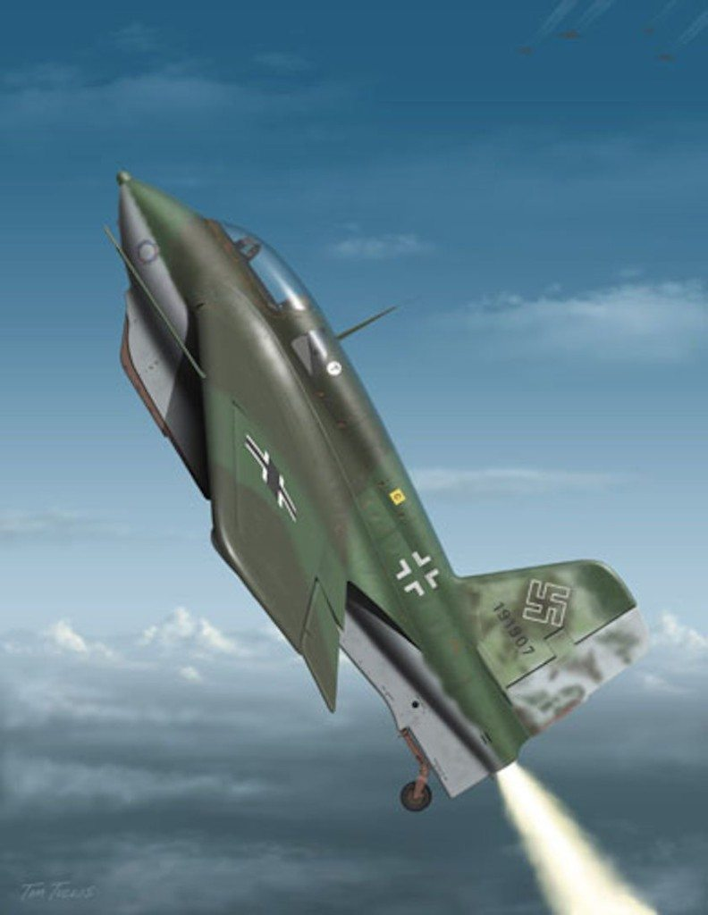 a-rocket-powered-plane-that-was-nearly-300-mph-quicker-than-the-fastest-aircraft-around