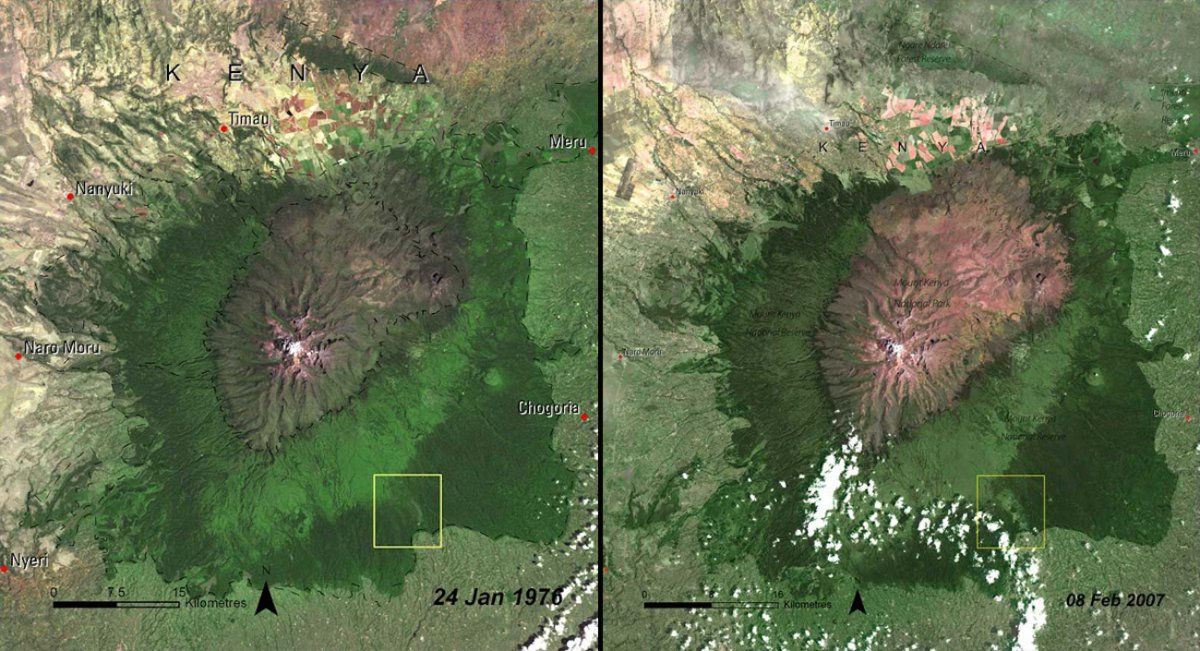 deforestation-of-mount-kenya-forest-kenya-1976-vs-2007