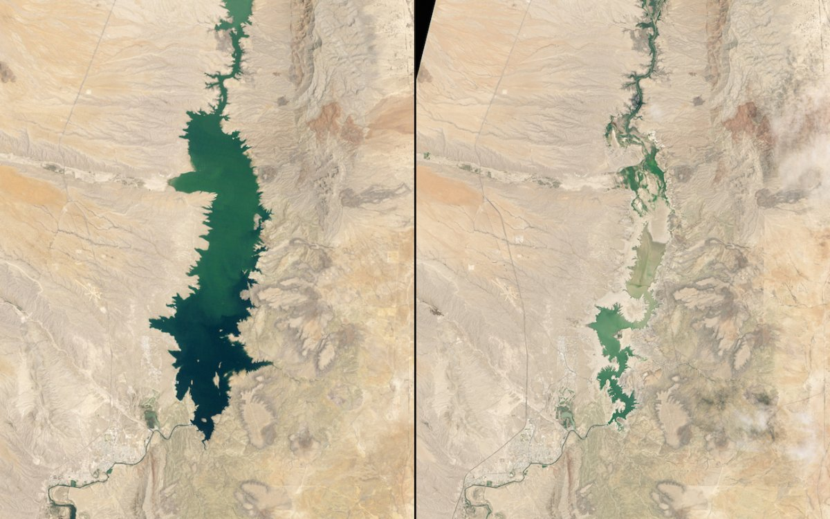 shrinking-elephant-butte-reservoir-new-mexico-1994-vs-2013