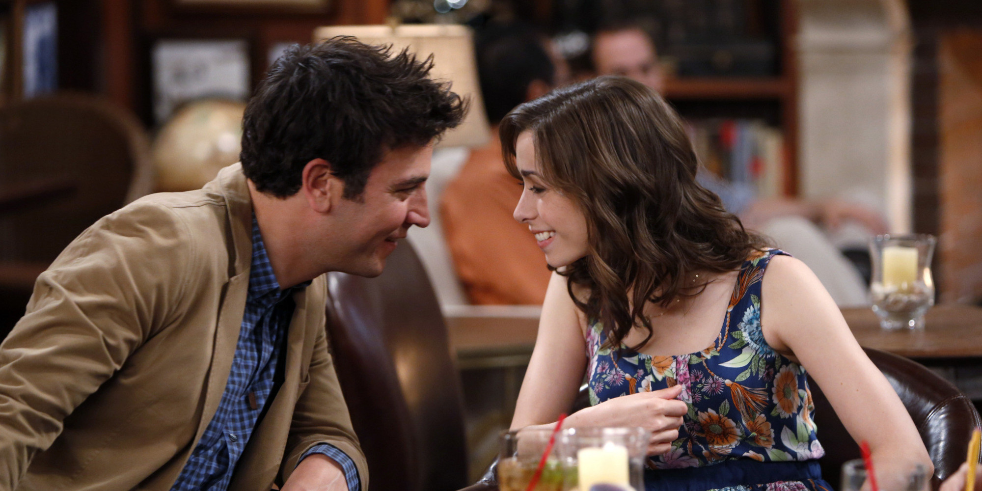 "LOS ANGELES - JULY 17: ""Coming Back"" -- Future Ted (Josh Radnor, left) and ""The Mother,"" (Cristin Milioti, right) on the ninth and final season premiere of HOW I MET YOUR MOTHER, Monday, Sept. 23 (8:00-9:00 PM, ET/PT) on the CBS Television Network. (Photo by Cliff Lipson/CBS via Getty Images)"